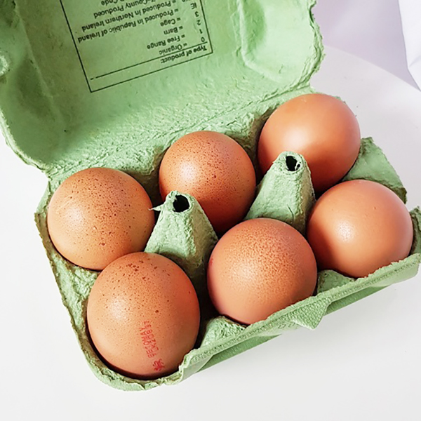 6 Free Range Eggs |   £2.50