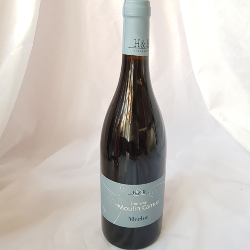 Delicious, light unfiltered red (Loire Merlot)  |  £13