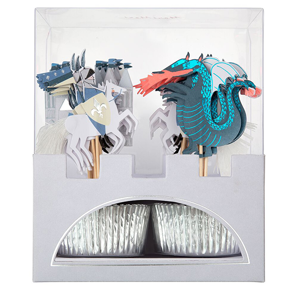 Dragon and Knights Cupcake Kit  |  £12