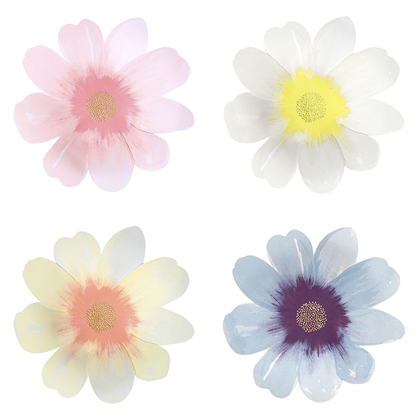Flower Garden Plates (large)  |  £8
