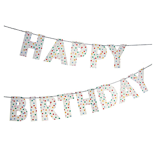 Happy Birthday Garland  |  £10