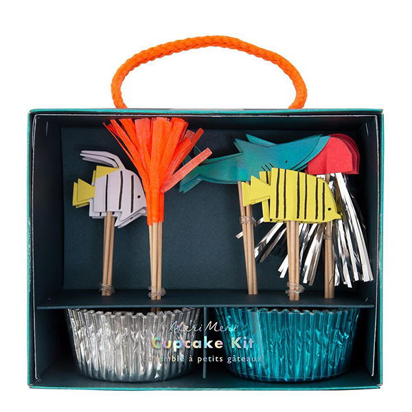 Under The Sea Cupcake Kit  |  £12