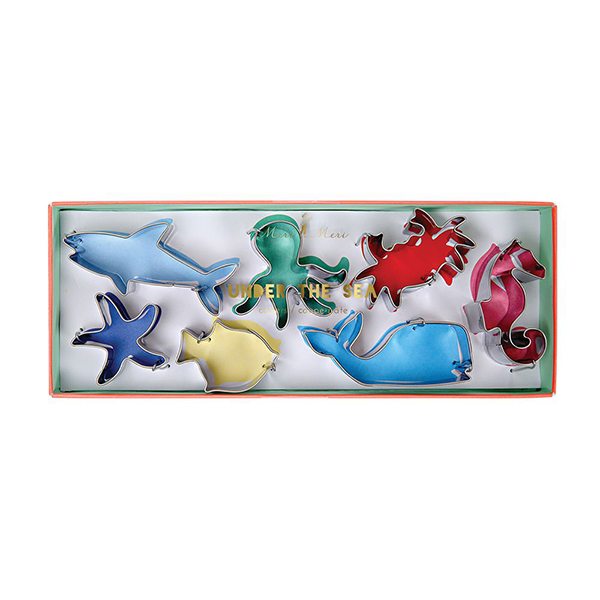 Under the Sea Cookie Cutters  |  £12