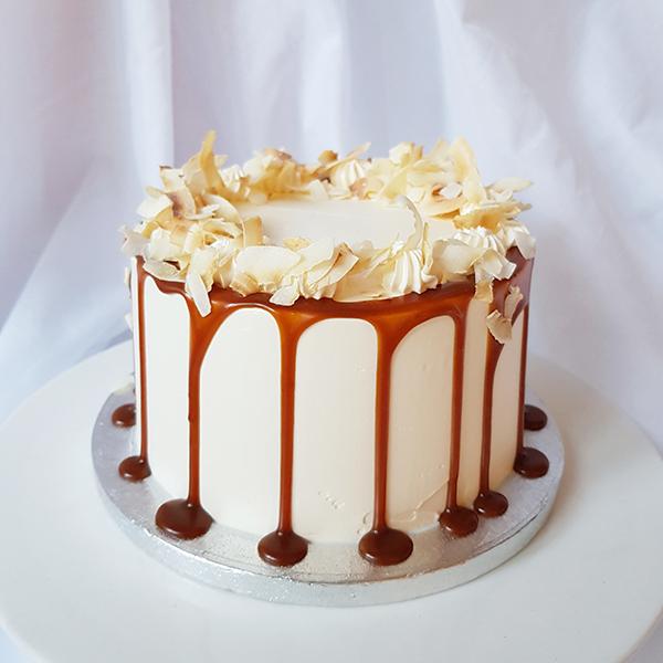 Coconut Caramel Cake  |  £50