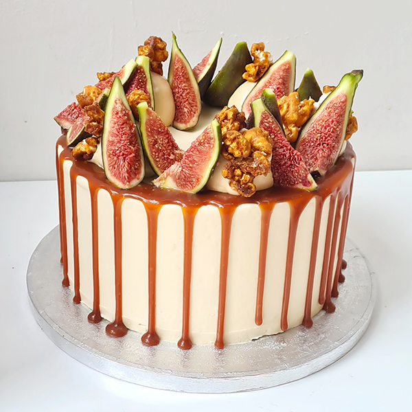 Salted Caramel Fig Cake  |  £60