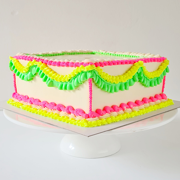 Neon Piping Cake! | from £75