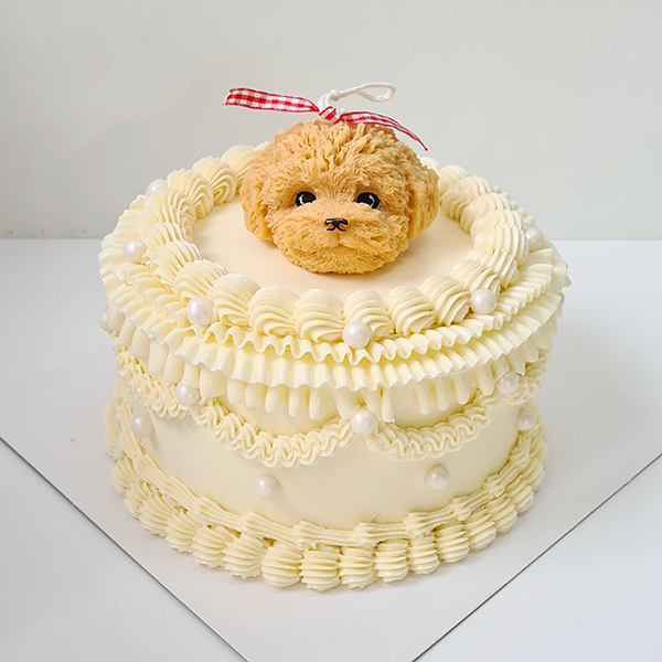 The Bruno (puppy candle cake)   from £65