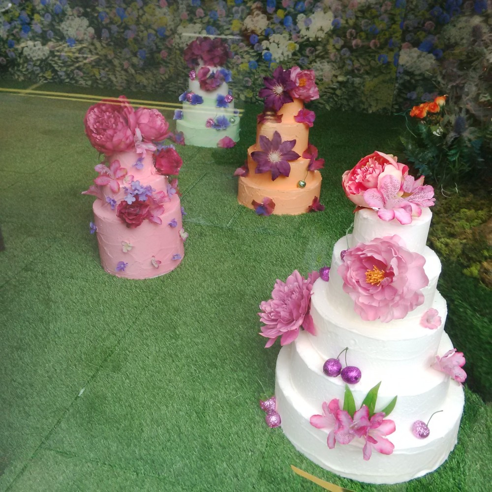 A Floral Window In Fortnums