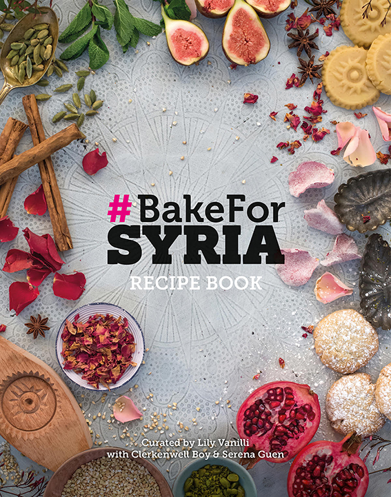 #BakeforSyria – The Book!