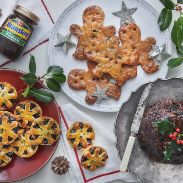 Branston Pickle Christmas Range