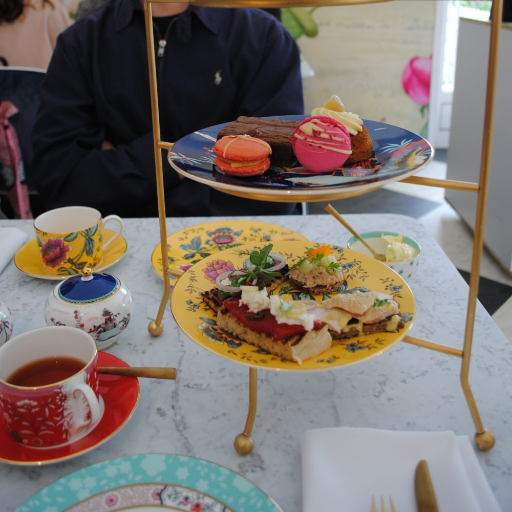 Wedgwood Tea Tasting at the RHS Chatsworth Flower Show
