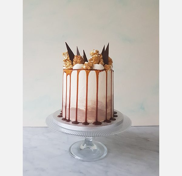 Lily Vanilli salted caramel and baileys cake