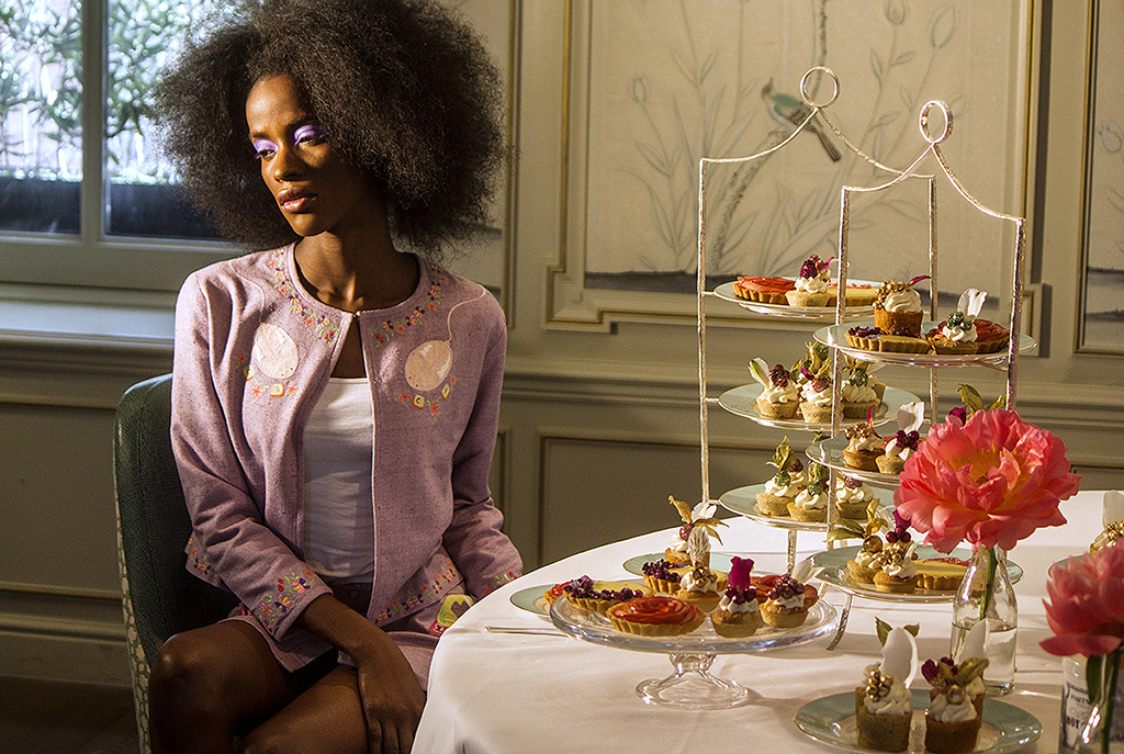 Fortnum and Mason Shoot with Clio Peppiatt