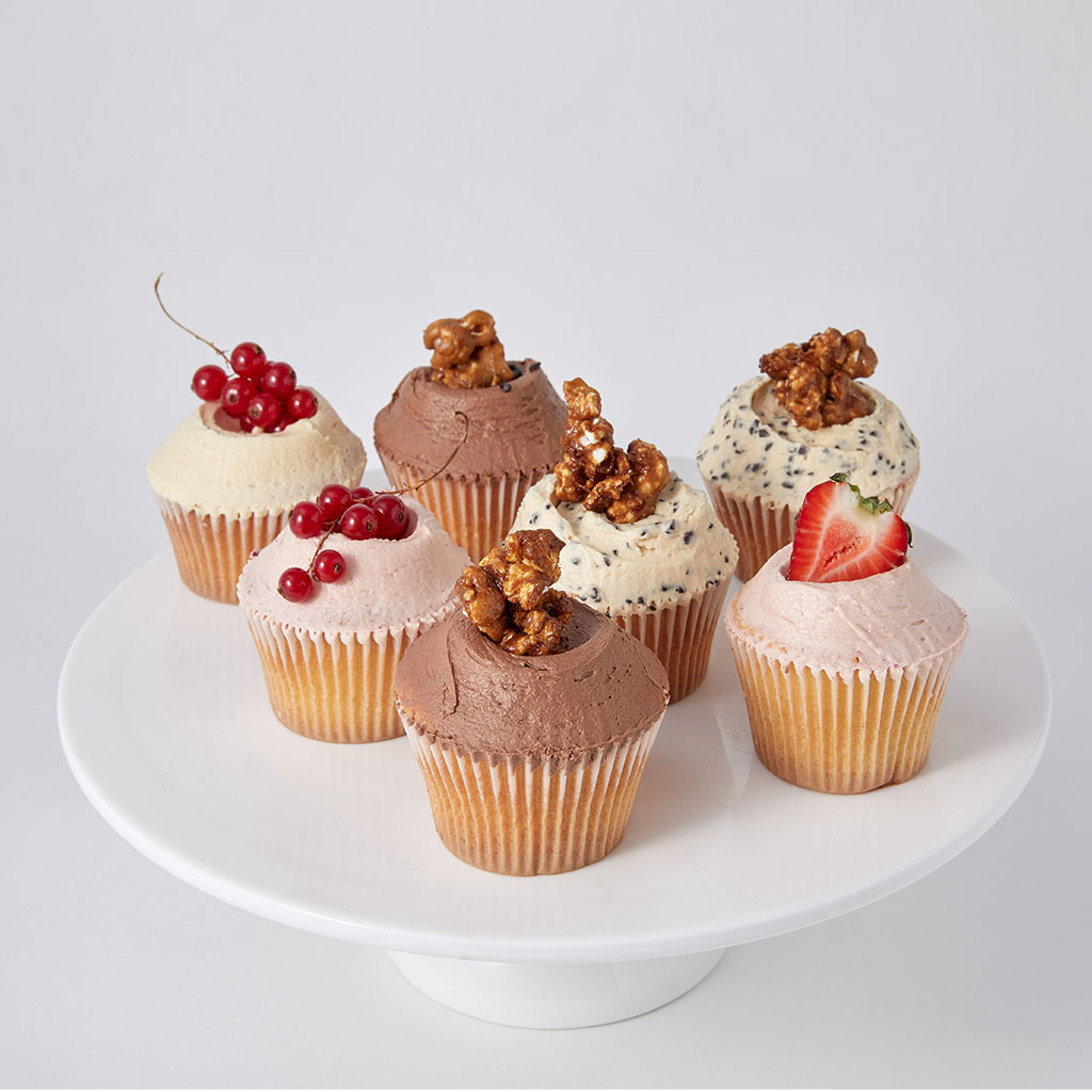 Cupcakes – Mixed Box of 6