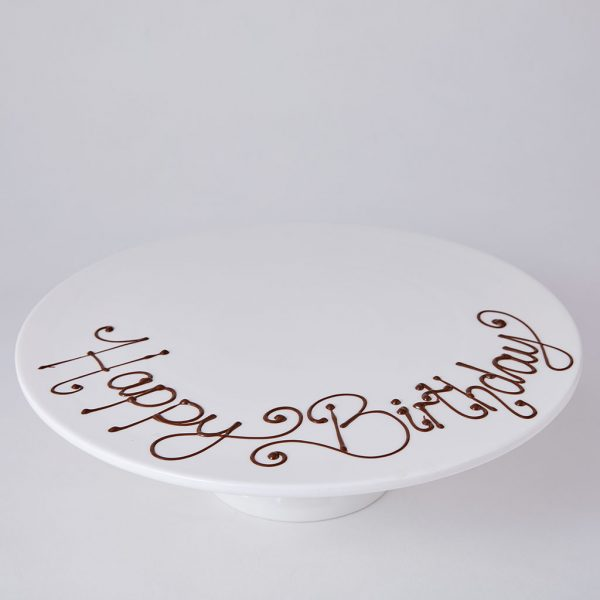 Personalise a Birthday Cake with a Message | Lily Vanilli Bakery London