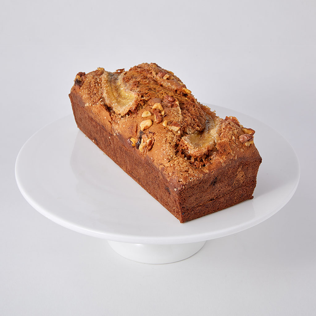 Banana Buckwheat Loaf Cake