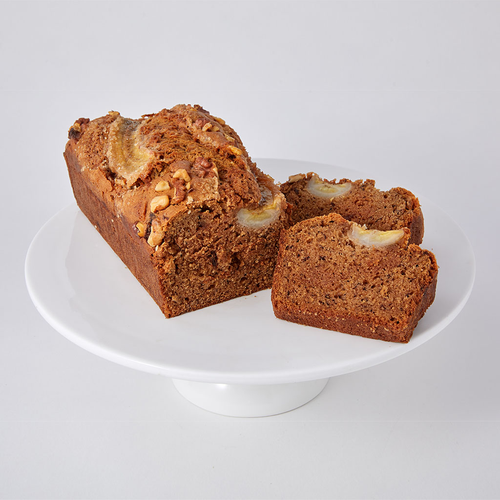 Banana Loaf Cake | Lily Vanilli London