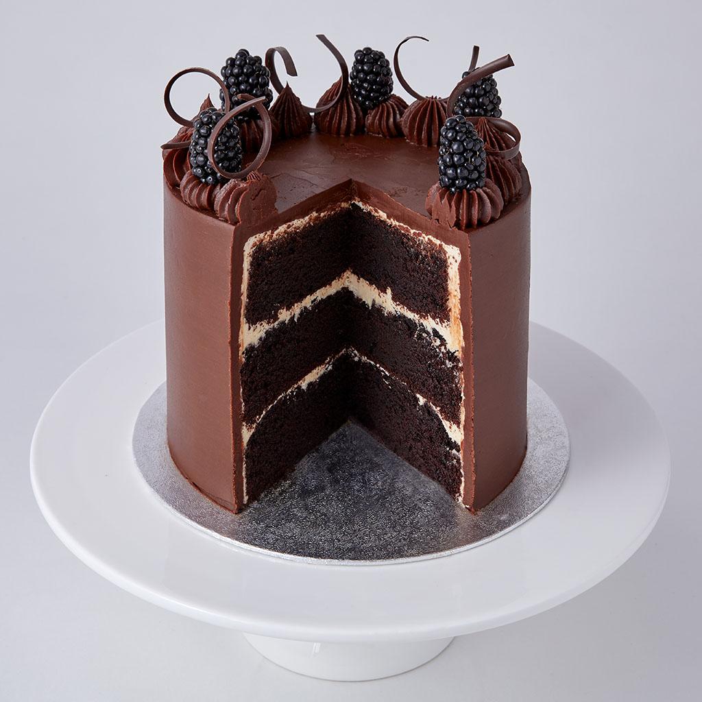Cool Chocolate Ganache Cake Lil Personalised Birthday Cards Vishlily Jamesorg