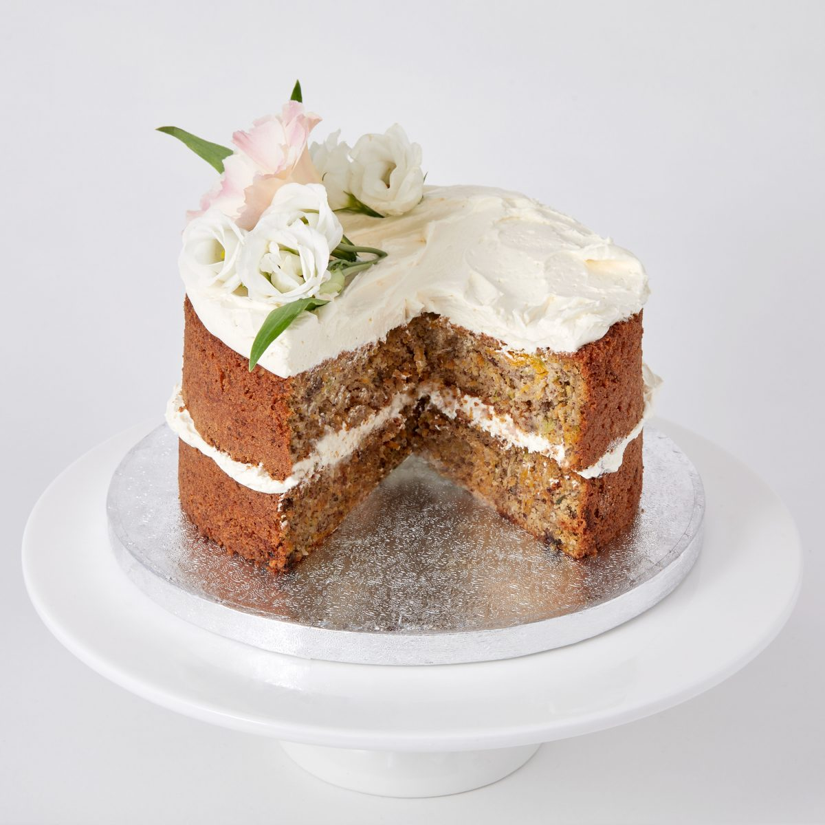 Gluten-Free Carrot and Courgette Cake | Bakery Delivery London
