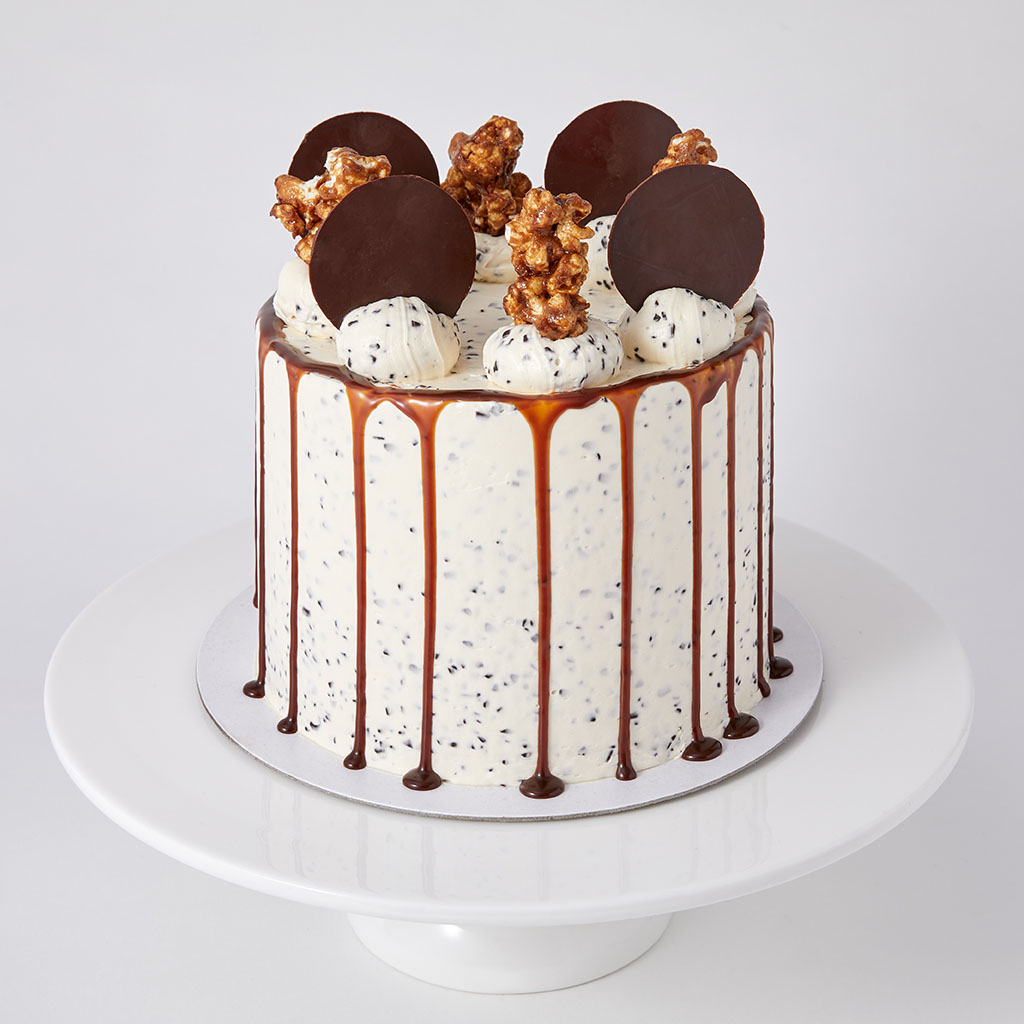 Chocolate Chip and Salted Caramel Cake  |  £65