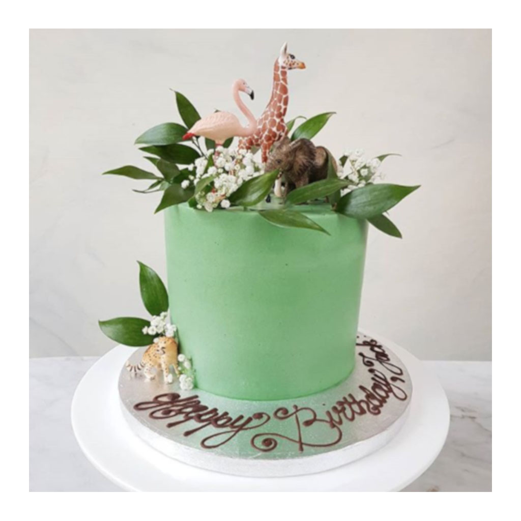 Kid's Jungle Cake
