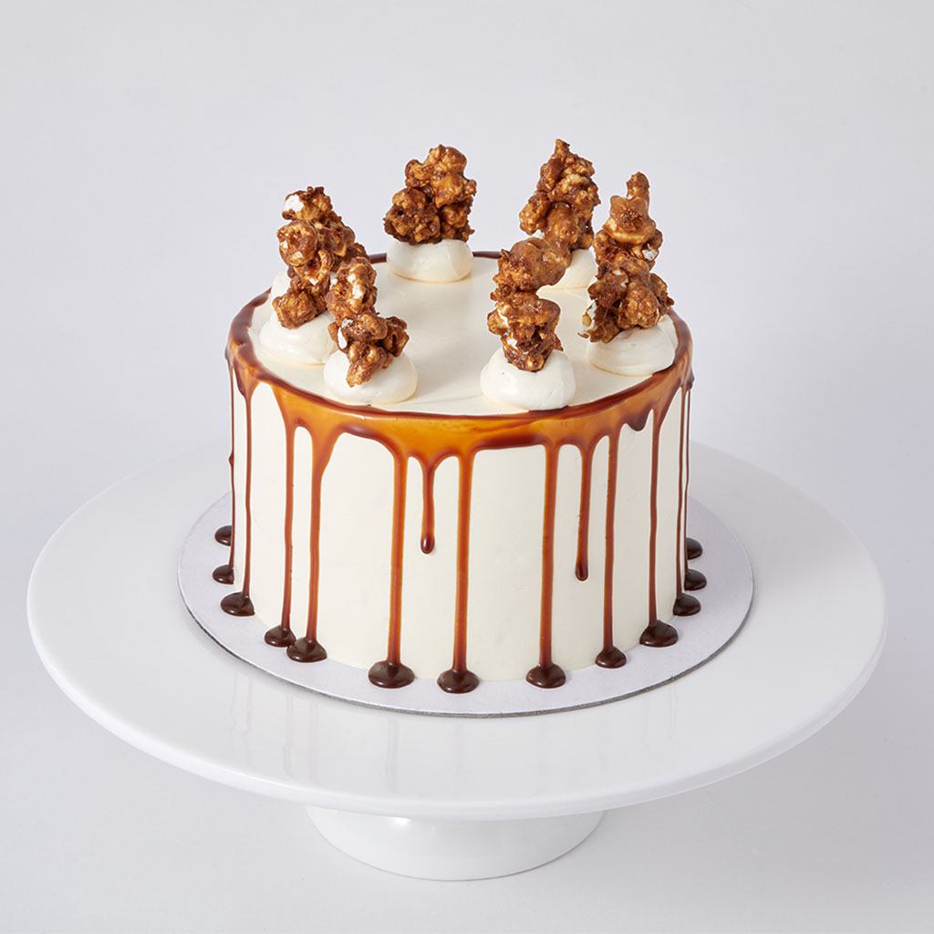 Mini Gluten-Free Chocolate and Salted Caramel cake