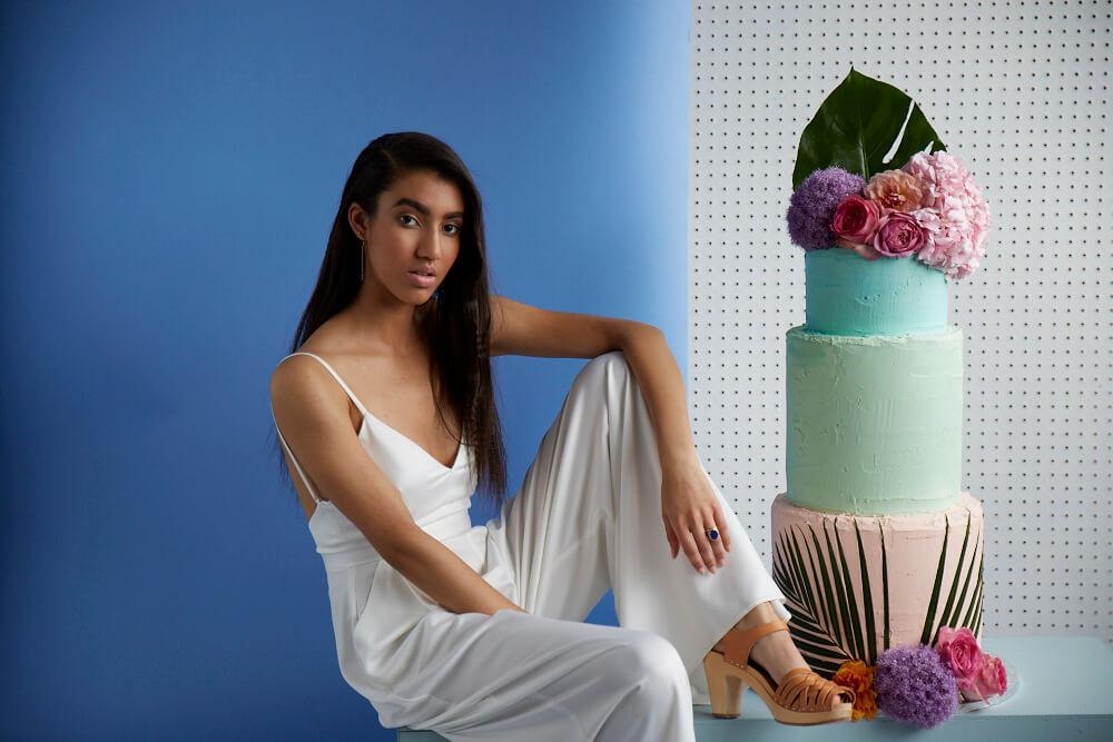 Indian Summer Wedding Cake Shoot
