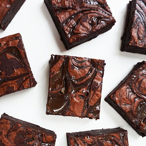 Salted Caramel Chocolate Brownies | London Cake Delivery
