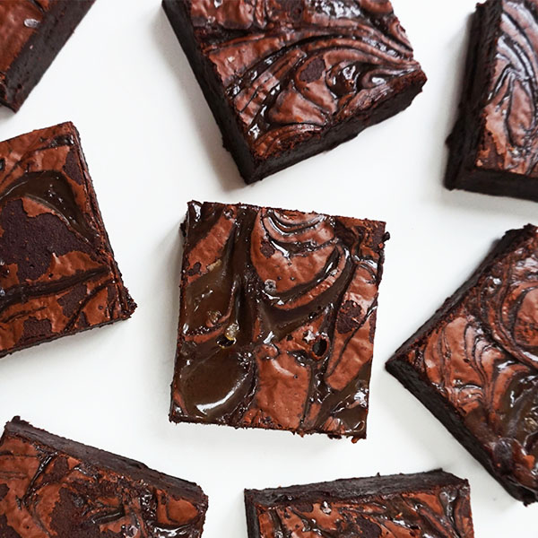 Salted Caramel Chocolate Brownie  |  £18