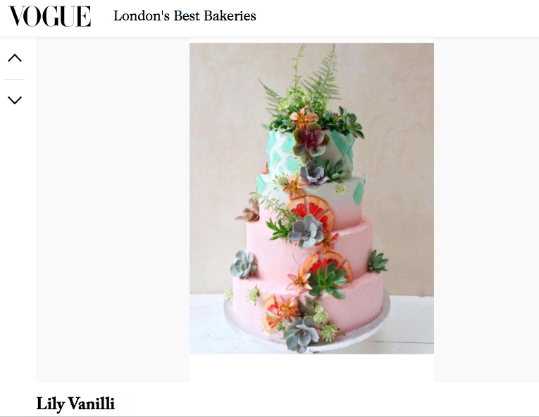 British Vogue – Best London Bakeries
